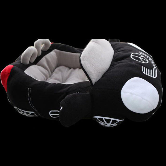 Furrari or Beam-Purrr Soft and Cuddly Sports Car Cat Bed - Unique Cat Gifts