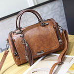 Load image into Gallery viewer, E2967 High Quality PU Leather fashion women tote bags for lady