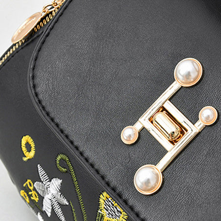 CB322 Embroidery design women hand bags 2021 luxury crossbody  handbags and purses