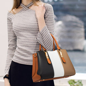 EG201 Wholesale fashion designer hand bags ladies handbags 4 pcs sets for women 2020