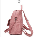 Load image into Gallery viewer, BPH002 New 2020 fashion wholesale waterproof pu backpack women