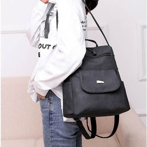 BPH002 New 2020 fashion wholesale waterproof pu backpack women