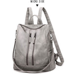 Load image into Gallery viewer, BPH004 Wholesale fashion ladies bag soft pu travel laptop backpack women