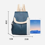 Load image into Gallery viewer, BPH018 Guangzhou fashion pu leather womens back pack girls backpack custom logo