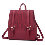 Load image into Gallery viewer, BPH020 Simple pu leather back pack fashion 2020 backpack bag women