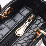 Load image into Gallery viewer, CB244 wholesale crocodile pattern pu designer women hand bags crossbody 2020
