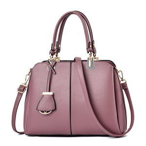 CB255 New style elegance women hand bags customized handbags metal logo