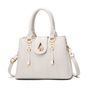 CB257 Latest design high quality elegant women pink handbags from china