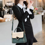 Load image into Gallery viewer, CB266 Wholesale color stitching women mini hand bag fashionable candy handbag