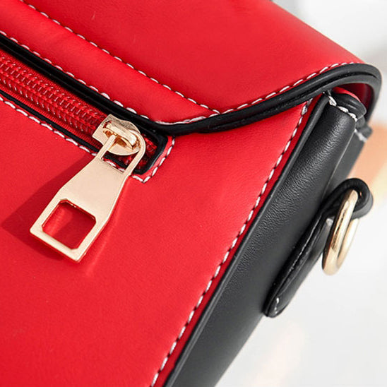 CB269 High quality double color stitching flap crossbody bag 2020 fashionable handbags