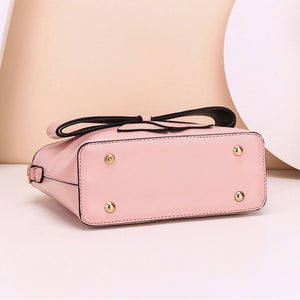 CB279 Fashionable bow design hand bag pink purses and handbags ladies