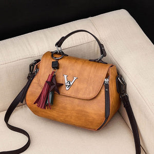 Cb280 Wholesale high quality Woman vintage leather bag branded handbags