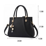 Load image into Gallery viewer, CB285 Luxury designer pu leather lady tote shoulder bag