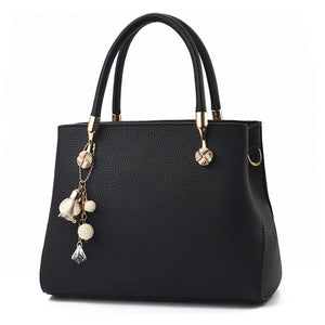 CB285 Luxury designer pu leather lady tote shoulder bag