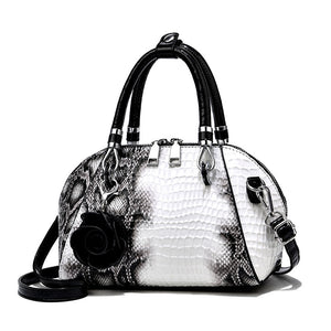CB289 Luxury designer snake print tote bag shoulder bag