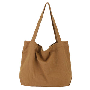 CG004 Large capacity women canvas tote bag reusable shopping bags