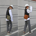 Load image into Gallery viewer, CG023 Wholesale fashion canvas women sling bag mini square crossbody bag
