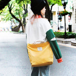 Load image into Gallery viewer, CG027 Custom logo canvas large tote bag shoulder handbag for women
