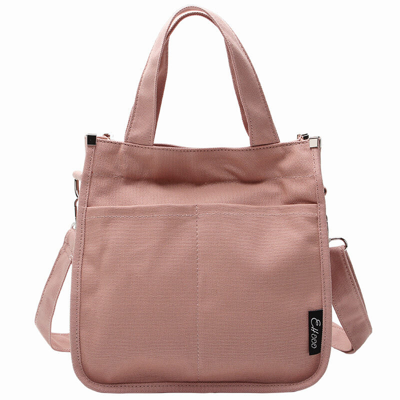CG029 Wholesale casual high quality women shoulder handbag tote canvas bag