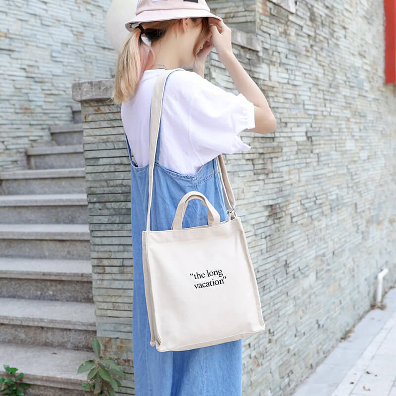 CG030 Reusable cotton shopping bag women tote bags with custom printed logo