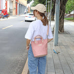 Load image into Gallery viewer, CG032 Fashion casual girl bucket tote bag ladies shoulder bag crossbody