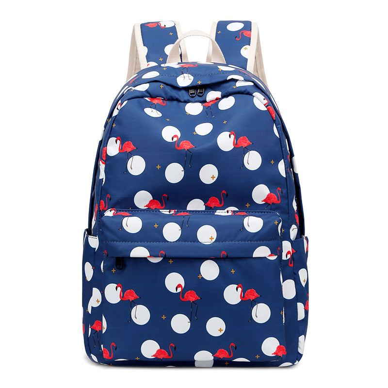 CVB021 Wholesale Dot design 2020 school bag sets girl backpacks with lunch bags