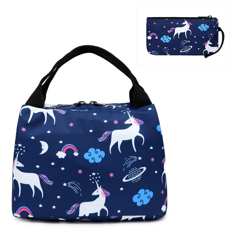 CVB026 Wholesale custom made fashion cute style insulated lunch bag for kids school
