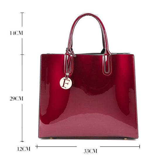 E3078 Luxury and elegant bags women new handbags with small pendant lady tote bags