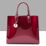 Load image into Gallery viewer, E3078 Luxury and elegant bags women new handbags with small pendant lady tote bags