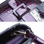 Load image into Gallery viewer, E3204 2019 Hot sale fashion snake pattern pu bag designers women handbags