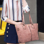 Load image into Gallery viewer, E3235 Online shopping large capacity handbag pu leather tote bag ladies shoulder bag