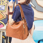 Load image into Gallery viewer, E3238 Hot sale 2019 pu leather cheap fashion handbags shoulder tote bag for women