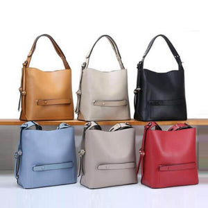 E3239 China suppliers wholesale pu leather women handbag fashion bucket bag