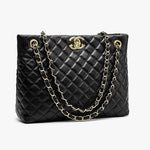 Load image into Gallery viewer, E3288 fashion handbags for women ladies 2020 gold chain for girls custom brand simple lingge casual tote bag leather top quality