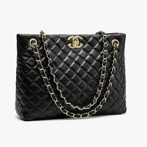 E3288 fashion handbags for women ladies 2020 gold chain for girls custom brand simple lingge casual tote bag leather top quality