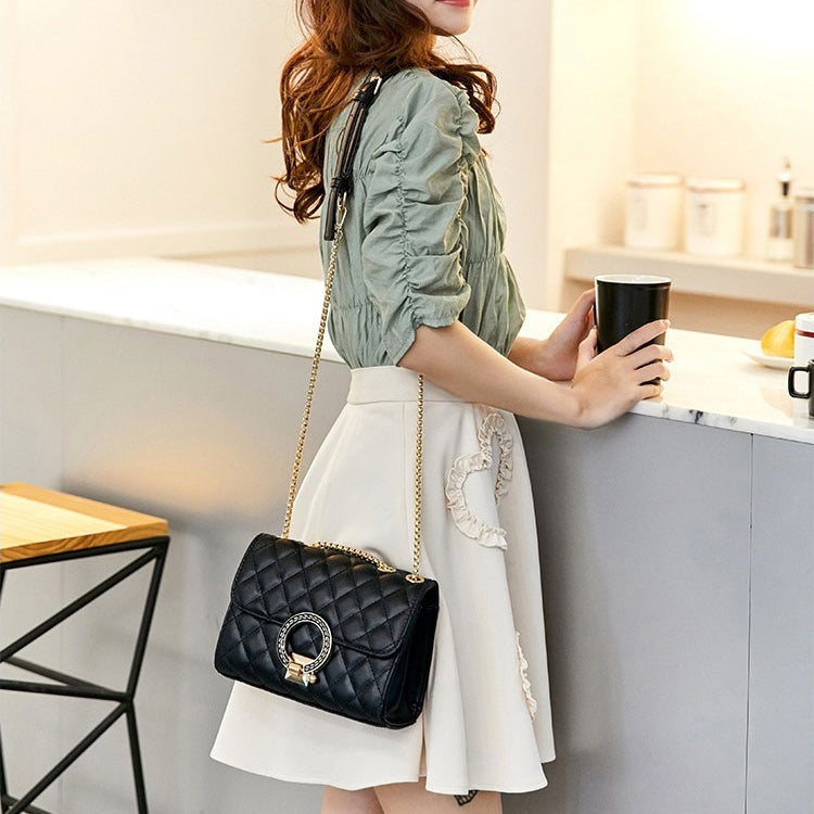 E3301 Wholesale custom fashion ladies sling shoulder bag PU crossbody bag women