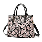 Load image into Gallery viewer, E3418 Custom luxury design snake print bags purses for women 2020 handbags