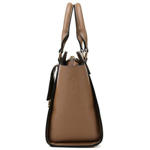 E3428 Fashion style ladies shoulder bags high quality PU women handbags