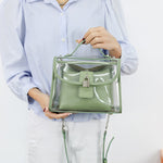 Load image into Gallery viewer, E3494 Fashion cheap ladies PVC clear hand bags women handbags transparent