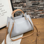 Load image into Gallery viewer, E3529 Pure color large capacity pu leather women cross body shoulder bags plain handbags
