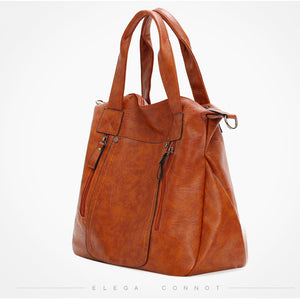 E3540 Wholesale high quality ladies bags soft pu leather large handbags for women