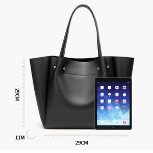 EG004 High capacity pu leather simple big bags women handbags trends 2020