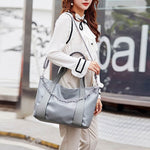 Load image into Gallery viewer, EG006 New arrival high capacity pu hand bags women handbags ladies