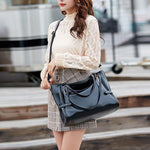 Load image into Gallery viewer, EG008 High capacity PU leather wholesale fashion hand bags 2020 women