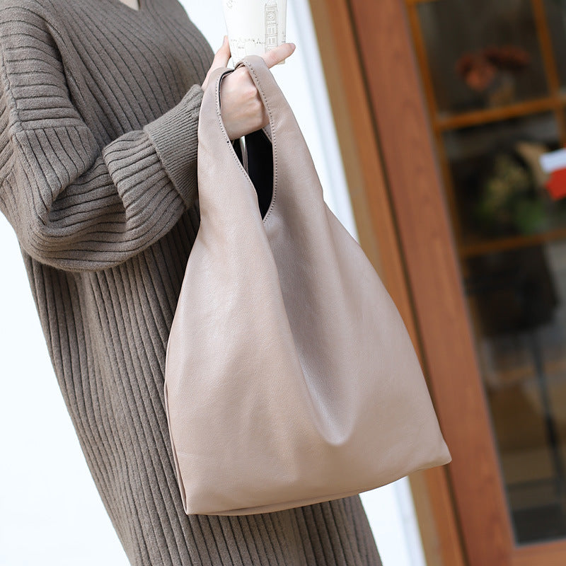 EG015 Wholesale casual totes soft pu leather shoulder bag 2 in 1 handbags for women