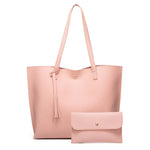 Load image into Gallery viewer, EG040 High capacity tassel PU leather trendy purses and handbags women