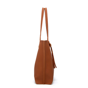 EG040 High capacity tassel PU leather trendy purses and handbags women