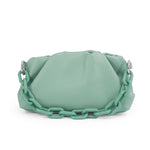 Load image into Gallery viewer, EG042 Custom korean cloud handbag chain shoulder bags dumpling bag women