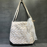 Load image into Gallery viewer, EG058 Fashion women lace beach handbag woven straw bags summer
