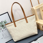 Load image into Gallery viewer, EG060 Newest summer women straw handbags large beach bag tote